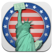 USA Green Card Lottery Icon